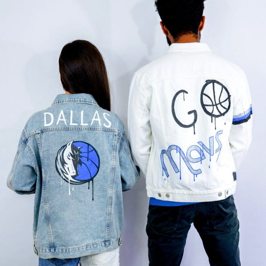 'GO MAVS' DENIM JACKET - MEN