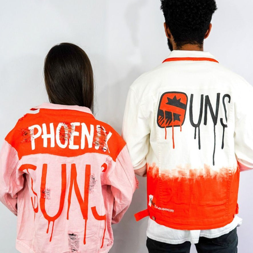 'GO SUNS' DENIM JACKET - WOMEN