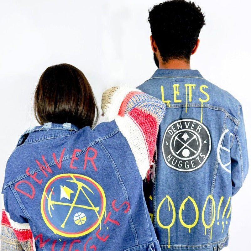 'GO NUGGETS' DENIM JACKET - MEN