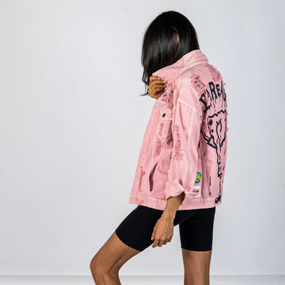 WG x SpongeBob SquarePants 'FINE & FANCY' DENIM JACKET