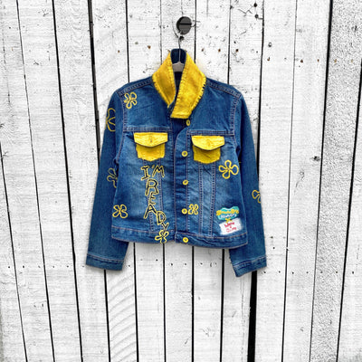 WG x SpongeBob SquarePants 'MERMAID & FRIENDS' DENIM JACKET