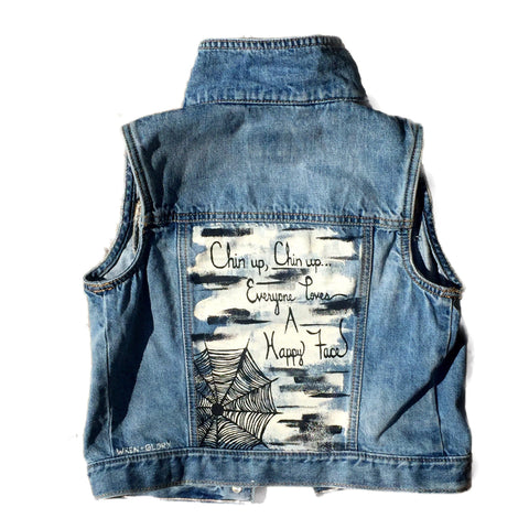 'CHAROLETTE' DENIM VEST - Girls