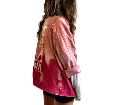 'FOR THE GIRLS' DENIM JACKET