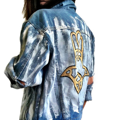 'GOLDEN HAND' DENIM JACKET