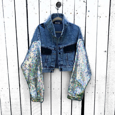 'UNICORN SHADOWS' DENIM JACKET