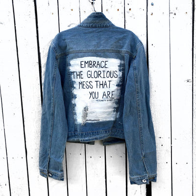 'EMBRACING' DENIM JACKET