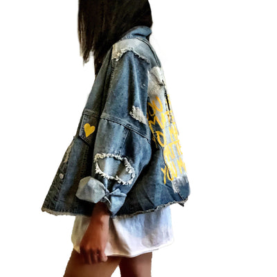 'YOU MATTER' DENIM JACKET