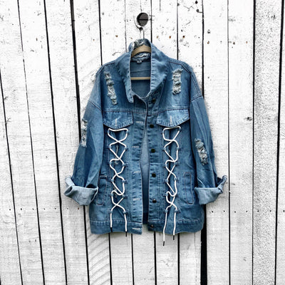 'WEIRDO' DENIM JACKET