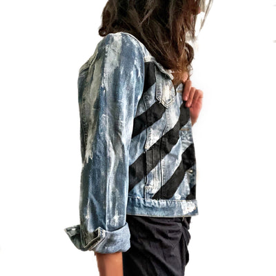 'Powerful' Denim jacket