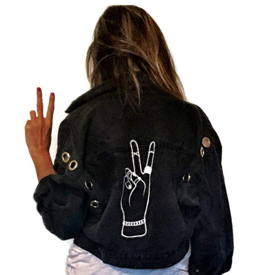 'IMAGINE' DENIM JACKET