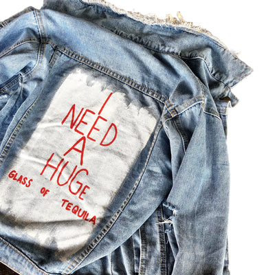 'HUGS' DENIM JACKET