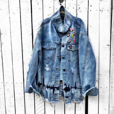'WITH THE BAND' DENIM JACKET