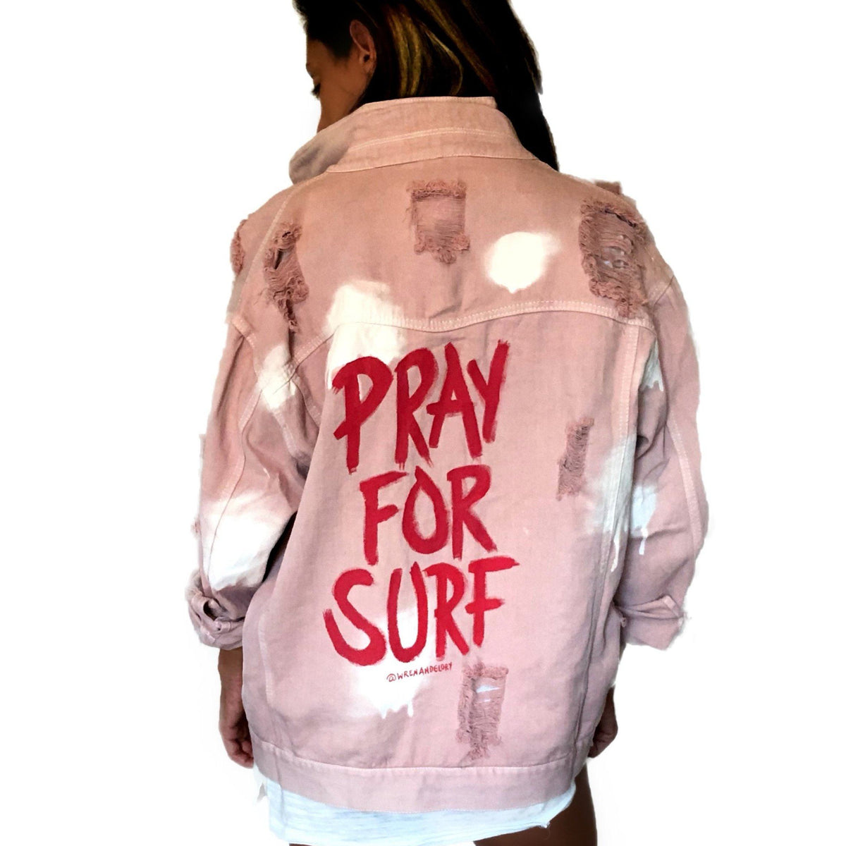 'SURFING' DENIM JACKET