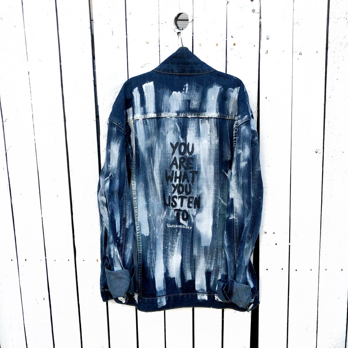 'WITH THE BAND' DENIM JACKET - MENS