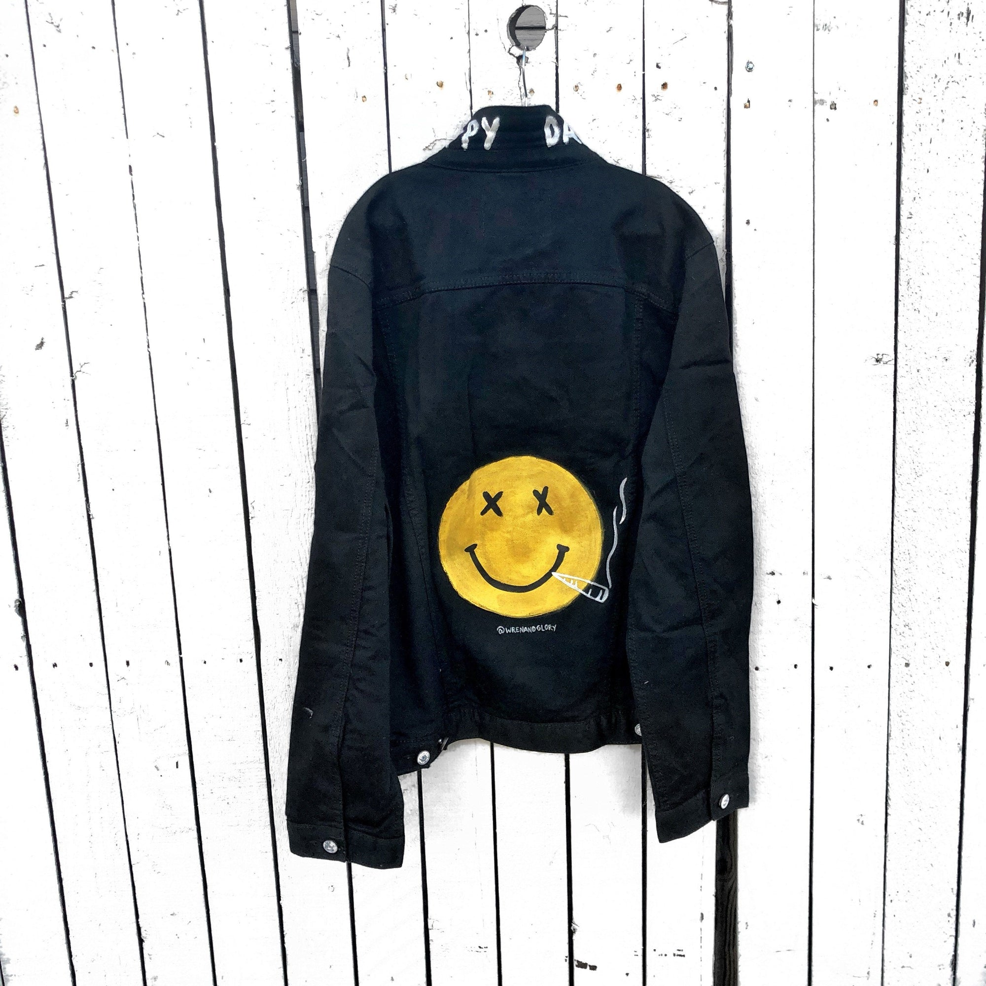 'HAPPY DAZE' DENIM JACKET - MENS