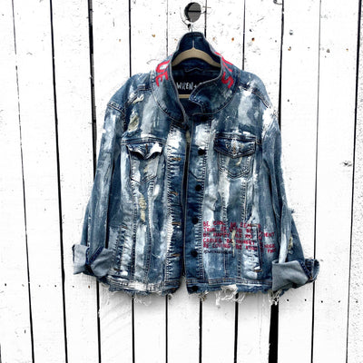 'QUEEN FOR A DAY' DENIM JACKET