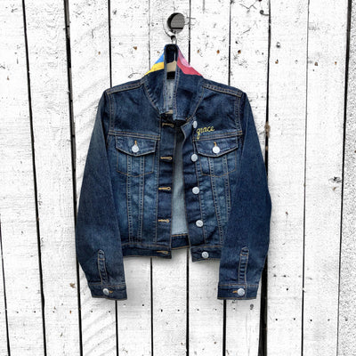 'WINK' DENIM JACKET - GIRLS