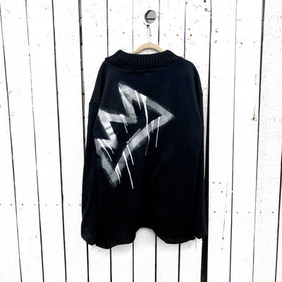 'CROWN' PAINTED SWEATSHIRT