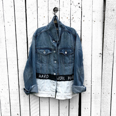'WORK DENIM JACKET - MEN