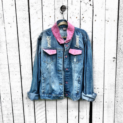 'GIRLS' DENIM JACKET