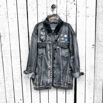 'BE MUSIC' DENIM JACKET
