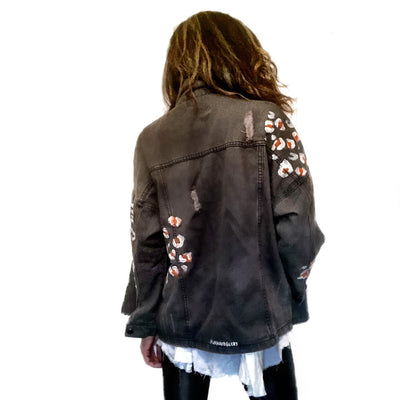 'WILD TIGER' DENIM JACKET