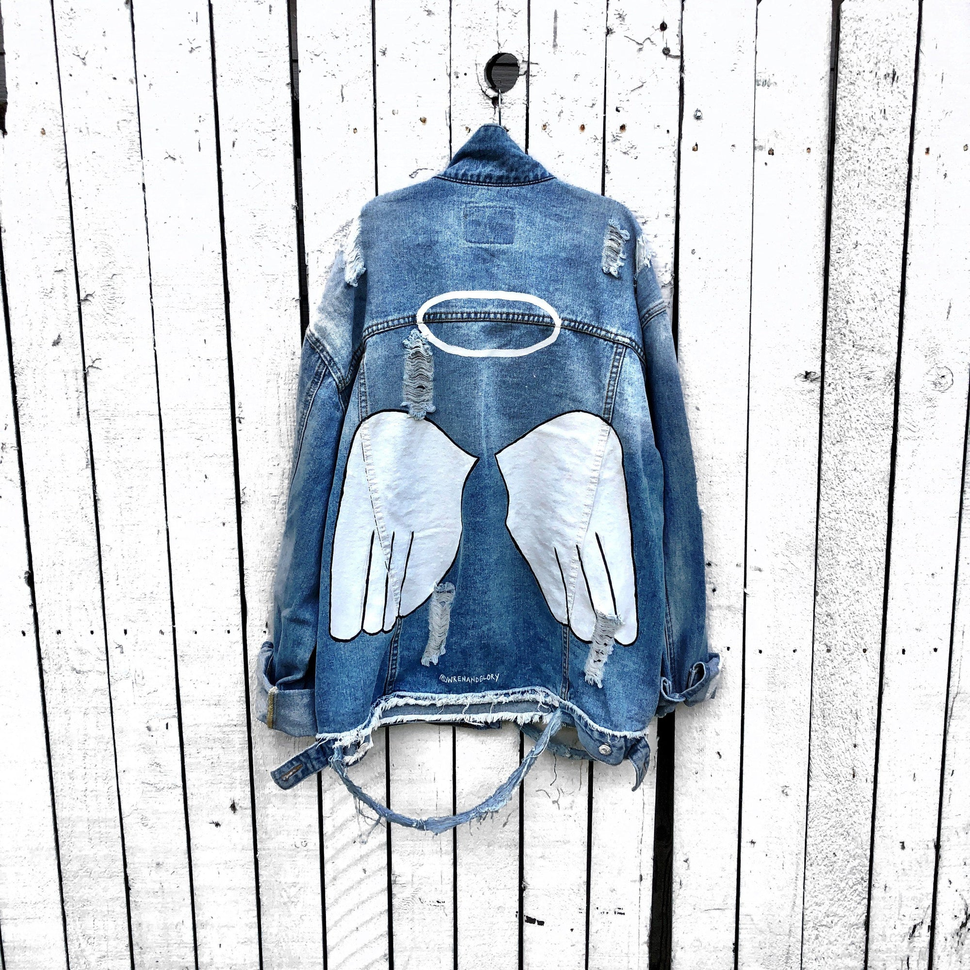 'ANGEL' DENIM JACKET