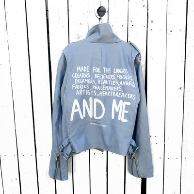 'AND ME' LEATHER JACKET