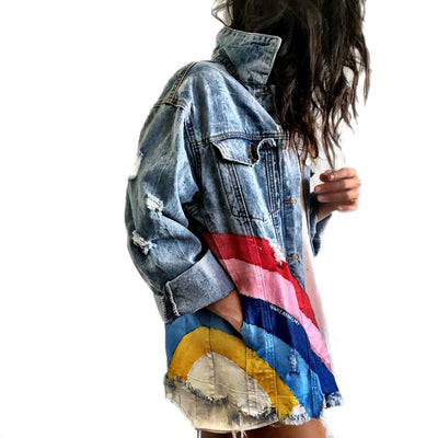 'ALL WE NEED' DENIM JACKET