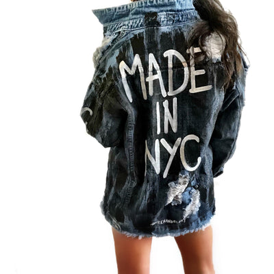 'MADE IN NY' DENIM JACKET