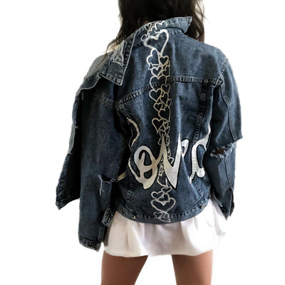 'LOVED' DENIM JACKET