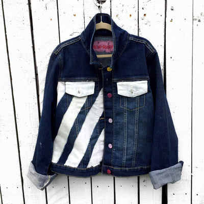 'BFF' DENIM JACKET SET - GIRLS