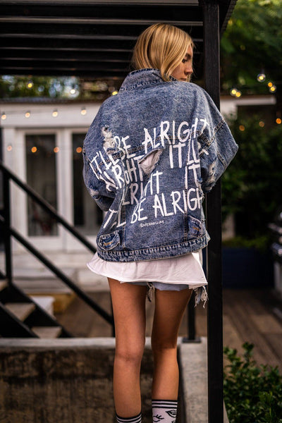 'ALRIGHT' DENIM JACKET