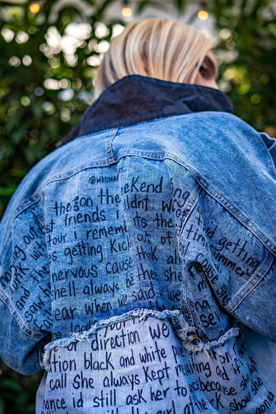 'IM EMO' DENIM JACKET