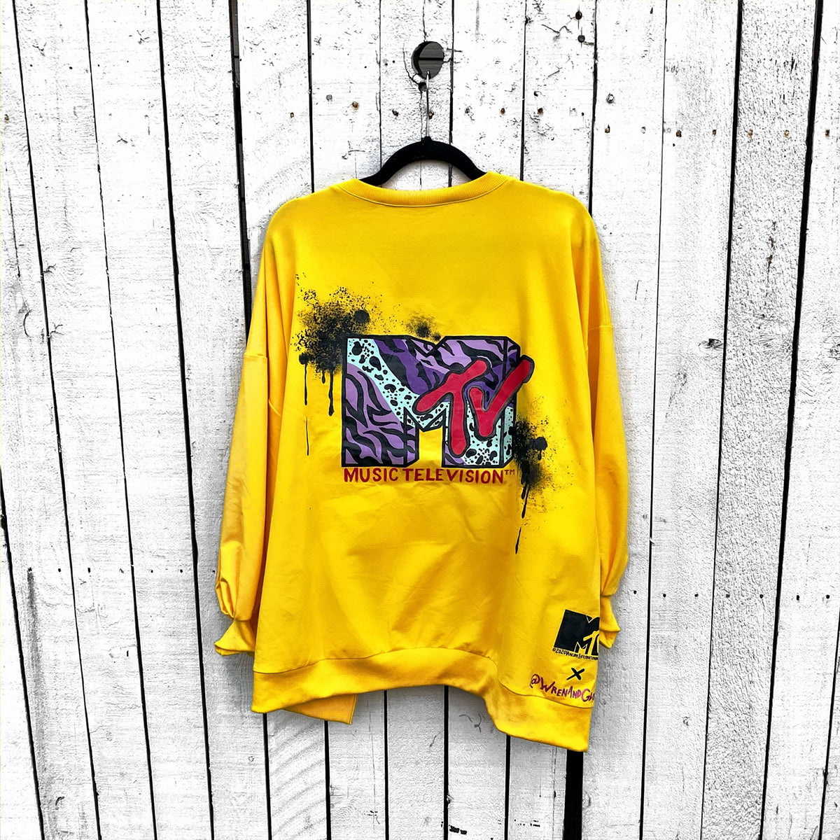 WG x MTV 'I WANT MY MTV' CREWNECK