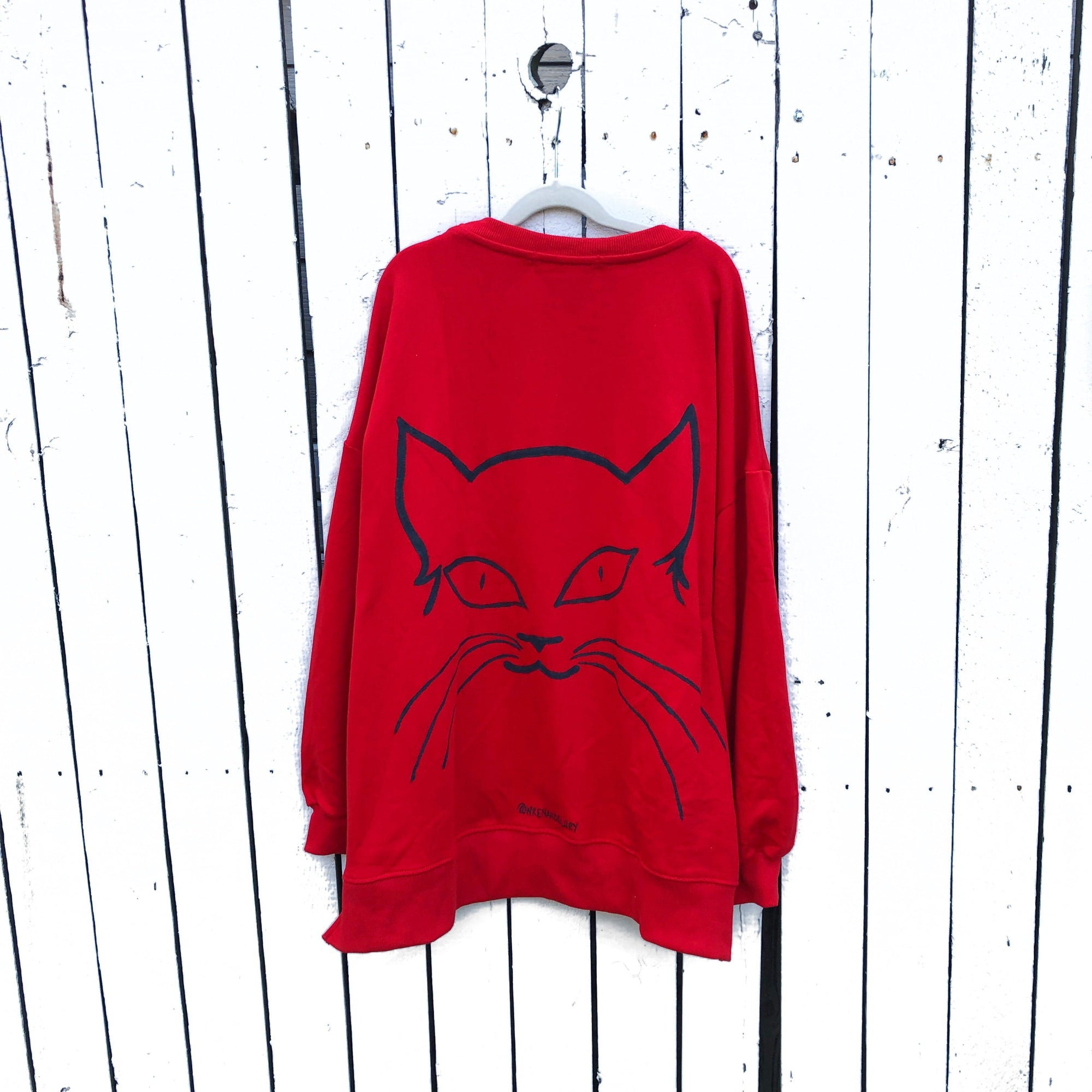 'IM A CAT' SWEATSHIRT