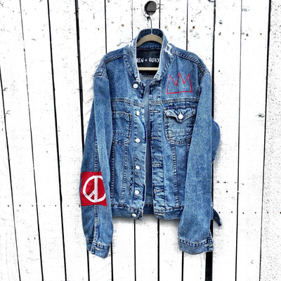 'KING HAPPY DAZE' DENIM JACKET - MEN