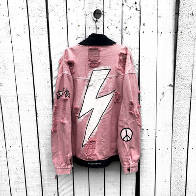 'LIGHTNING LOVE' DENIM JACKET