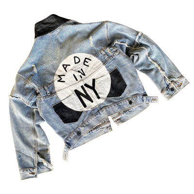 'MADE LOCALLY' DENIM JACKET