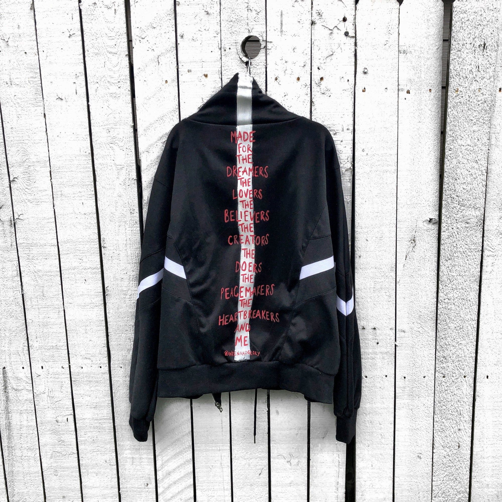 'MADE FOR ME' SWEAT JACKET