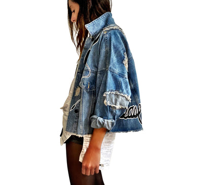'MAKE IT LOUDER' DENIM JACKET