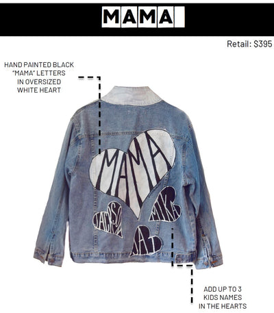 'MAMA' DENIM JACKET