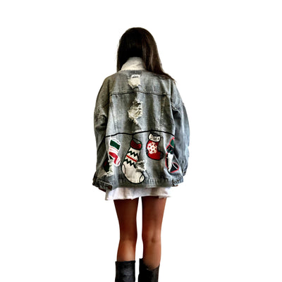'MERRY MERRY' DENIM JACKET