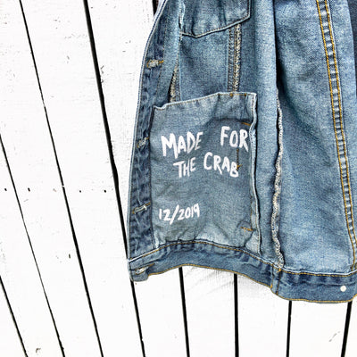'MY ZODIAC SIGN' DENIM JACKET