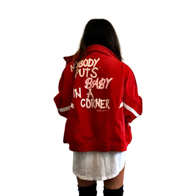 'NOT THIS BABY' SWEAT JACKET