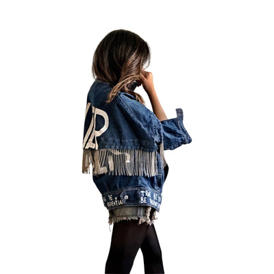 'POWER' DENIM JACKET