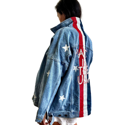 'PARTY IN THE USA' DENIM JACKET