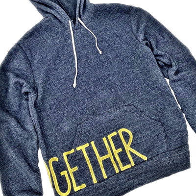 'ALONE TOGETHER' PAINTED HOODIE