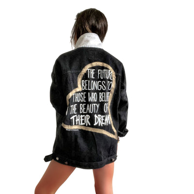'OUR FUTURE' DENIM JACKET