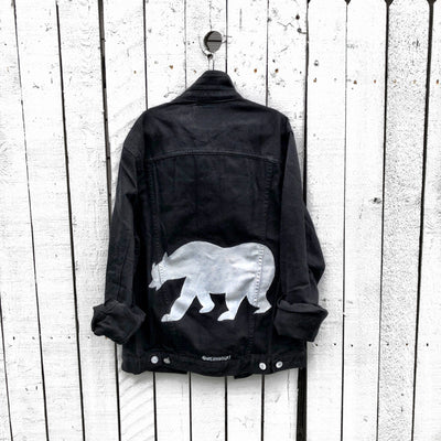 'PAPA' DENIM JACKET